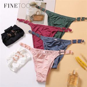 FINETOO Seamless Panties Underwear Women Thong Lace Thong Women Sexy Briefs Women G String Underpants String T-back For Girls
