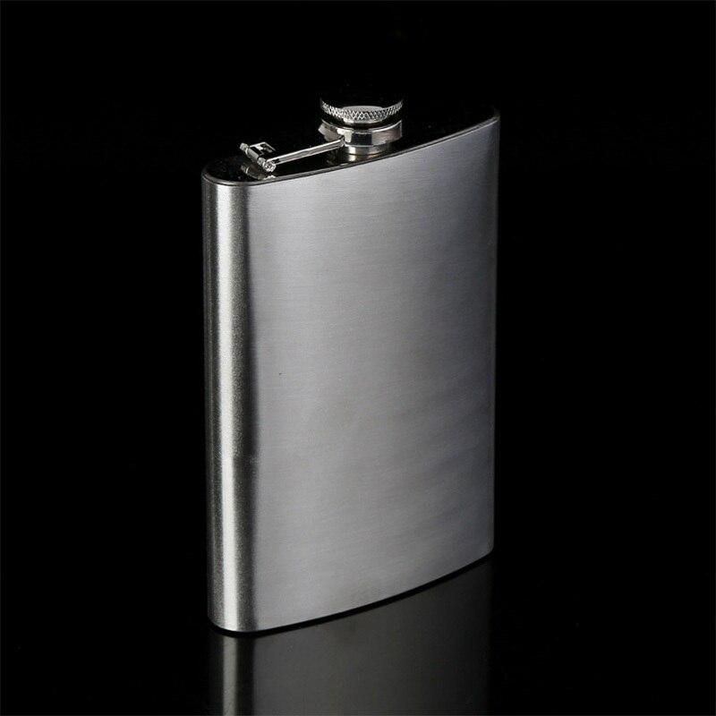 Stainless Steel Hip Flask Flagon Wine Whisky Pot Bottle Drinkware Bottle