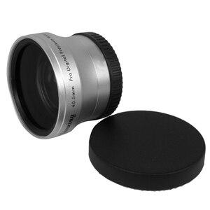 Image 5 - NEWYI عالية الدقة كاميرا كاميرا عدسة 40.5 مللي متر 0.45X زاوية واسعة + عدسة تحويل ماكرو 40.5 0.45 الفضة