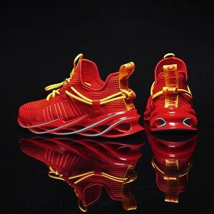 Image 1 - tenis masculino Zapatillas de deporte de lujo para hombre, zapatos informales de entrenamiento, mocasines de moda, zapatillas de correr para hombre