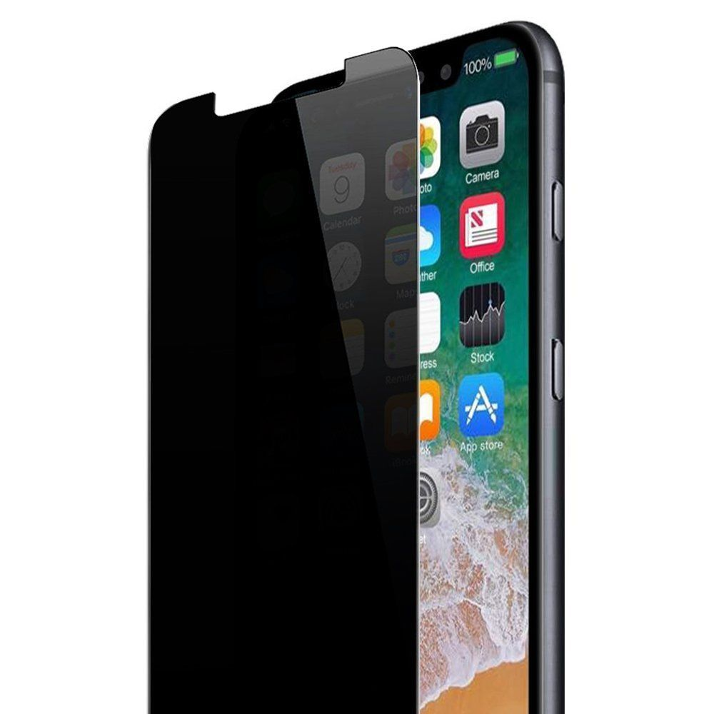 For iPhone 11 Pro Max XS Max XR 7 8 plus privacy tempered glass screen protector|Phone Screen Protectors|Cellphones & Telecommunications - title=