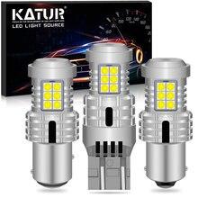 2x 2400Lm T20 W21W 7440 7443 1156 BA15S P21W BAU15S PY21W 1157 BAY15D 3157 LED Canbus Turn Signal Light Bulbs Amber Yellow White