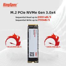 KingSpec SSD M 2 PCIe NVME SSD 1tb 2tb SSD PCIe NVME 128GB 512GB 256GB 2280 dla Lenovo wewnętrzny dysk twardy hdd na komputer stacjonarny tanie tanio Pci express CN (pochodzenie) SM2263XT Read Up to 2400MB s Write Up to 1700mb s(Reference Only) Pci-e Pulpit Laptop Serwer