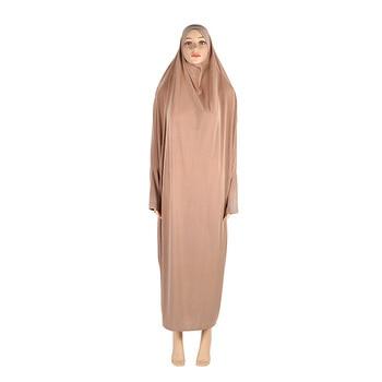 Falda de diamantes de imitación ropa tamaño grande hijab Khimmar largo Khimmar con mangas largas tamaño libre