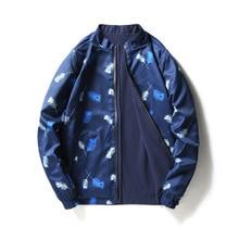 купить Men Patchwork Flowers Two side wear Floral Bomber Jacket Windbreaker Long Sleeve Zipper Hiphop Jackets Coat Men's Pilot Jacket дешево