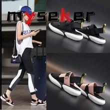 Sports Sandals Slippers Platform Casual-Shoes High-Heel Flat Summer Thick Women Open-Toe
