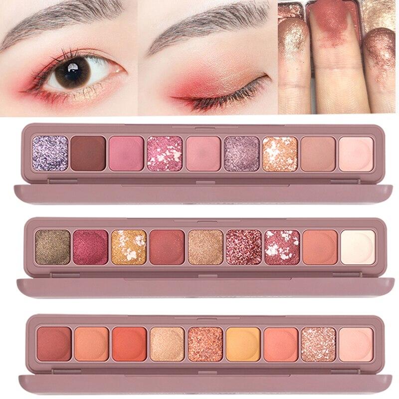 Makeup Eyeshadow Pallete Glitter Eye Shadow Pearl light Flash Film Waterproof Highlight Flash Powder Lying Silkworm TSLM2