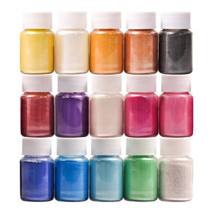 Kit-Powder Pigment-Supply In-Bottle Resin Nail-Art/eyeshadow 32-Colors for DIY Organized