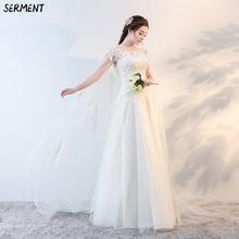 2019 New One-shoulder Wedding Dress Bride Lace Slim Korean Pregnant Women Big Tail Luxury