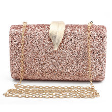 amazon hot selling 4 colors new purse clutch bag luxury handbags women bags designer beach bag gold silver black bolsa feminina(China)