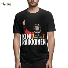 3D Print Nice Short-sleeved Popular Kimi Raikkonen  Top Tees High-Q For Male Free Shipping O-neck T Shirt Man