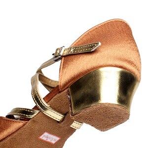 Image 5 - Туфли DIPLIP детские для латиноамериканских танцев, обувь в национальном стиле для сальсы, детские туфли для танго