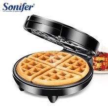 1200 Вт Электрический вафельный Сэндвич Машина для завтрака, для кухни пузырчатая вафельница пончики мульти-пекарь 220 В Sonifer
