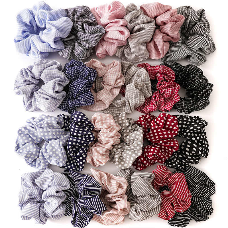 New design hair accessories women ladies hair tie scrunchie fashion female headwear women headbands