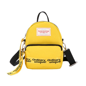 Image 5 - Ougger Woman Shoulder Bag Concise Fashion Simple Canvas Ins Ladies Mini Leisure Crossbody Bags Women Messenger Bag with Zipper