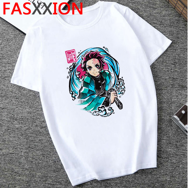 H7a6d81a9fb51461eab9c329f940ced47E - Demon Slayer T-shirt  Graphic Tees Men Streetwear  Japanese Anime Cool Tshirt Funny Cartoon Kimetsu No Yaiba T Shirt Male