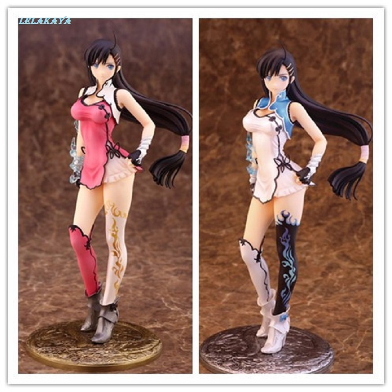 25cm Anime Blade Arcus From Shining 2P Color Wang Bailong Tony Doll Sexy Girl Model PVC Action Figure Collection Toys Brinquedos