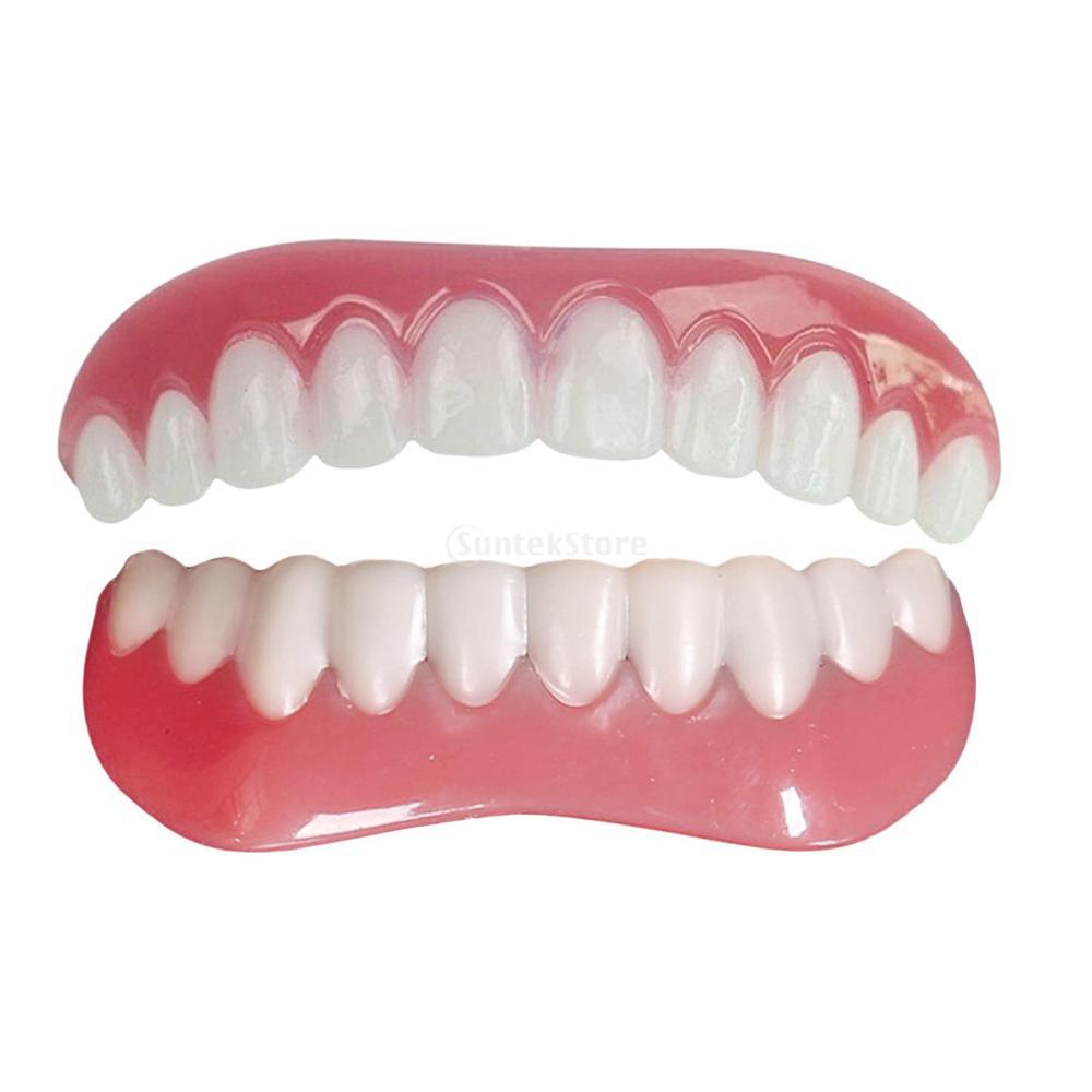 Накладные наклейки на зубы моделирование отбеливание зубов зубные протезы паста подтяжки верхний зуб для инструментов покрытый верхний и ...