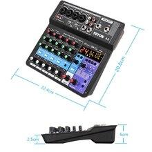 Microphone Sound Mixer Sound Card Karaoke Mixer Mixing Console Amplifier M5TE