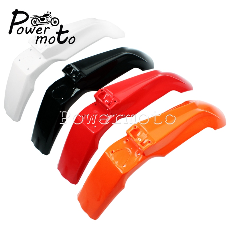 Universal MX Enduro Front Wheel Fender Splash Mudguard For <font><b>KTM</b></font> EXC XCF-W SXF XCW XC SX 125 250 <font><b>350</b></font> 500 2012 2013 <font><b>2014</b></font> Mud Cover image