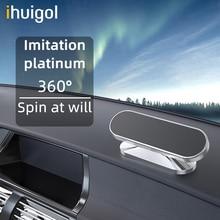 ! ACCEZZ מגנטי רכב מחזיק טלפון 360 תואר לסובב מגנט נייד טלפון מחזיק עבור iPhone 12 11 Samsung Xiaomi אוניברסלי סוגר