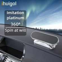!ACCEZZ Magnetic Car Phone Holder 360 Degree Rotate Magnet Mobile Phone Holder For iPhone 12 11 Samsung Xiaomi Universal Bracket