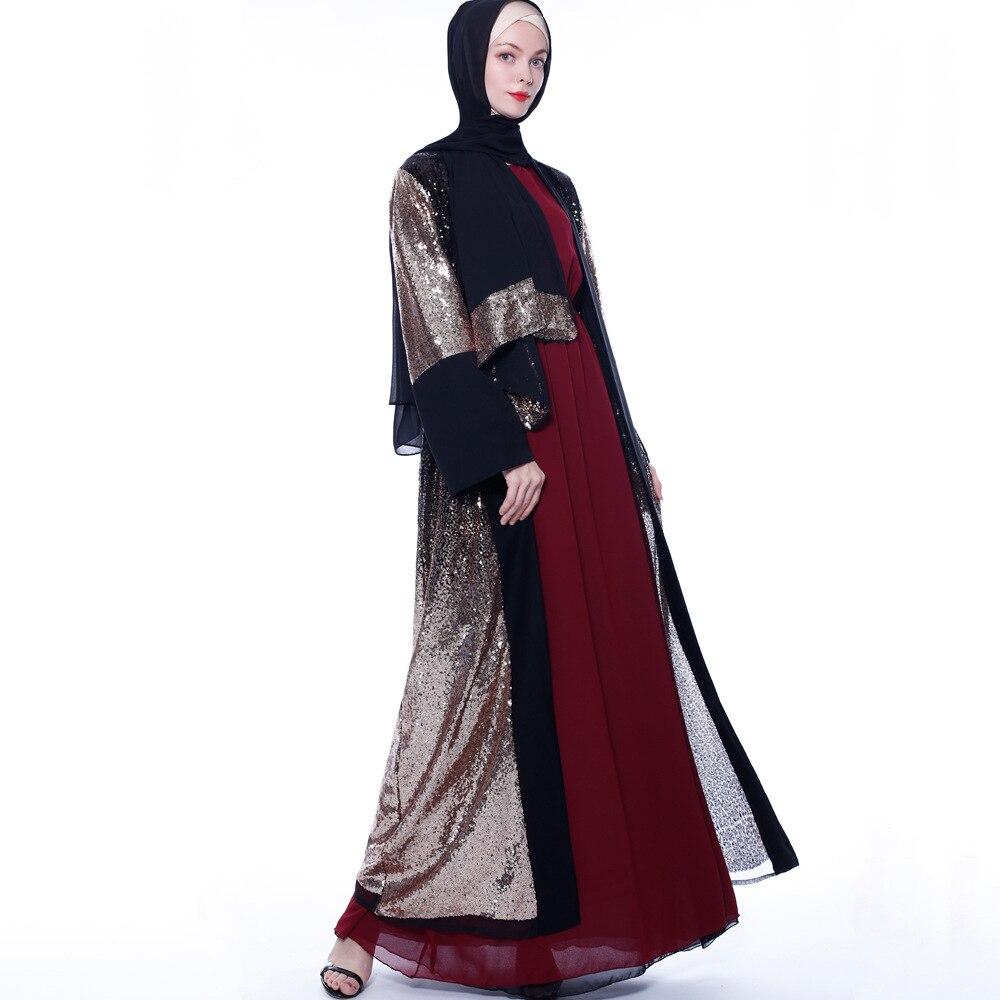 Купить новинка 2020 abaya мусульманская одежда для женщин исламский