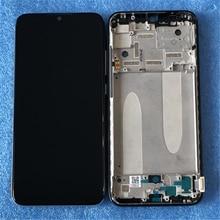 """6.09 """"Ban Đầu AMOLED Axisinternational Dành Cho Xiaomi A3 1906F9 Màn Hình LCD + Bảng Điều Khiển Cảm Ứng Bộ Số Hóa Khung Viền Cho Xiaomi Mi CC9e"""