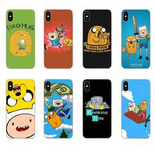Adventure Time With Finn And Jake For LG G2 G3 G4 G5 G6 G7 K4 K7 K8 K10 K12 K40 Mini Plus Stylus ThinQ 2016 2017 2018(China)