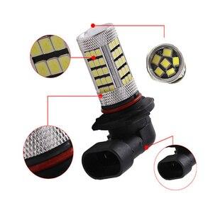 Image 4 - 2x projecteur pour voiture, ampoule H4 H7 H8/11 9005/HB3 9006/HB4 Auto 2835 66SMD, lumière, lampe de conduite DRL, accessoires blanc 12V, partie