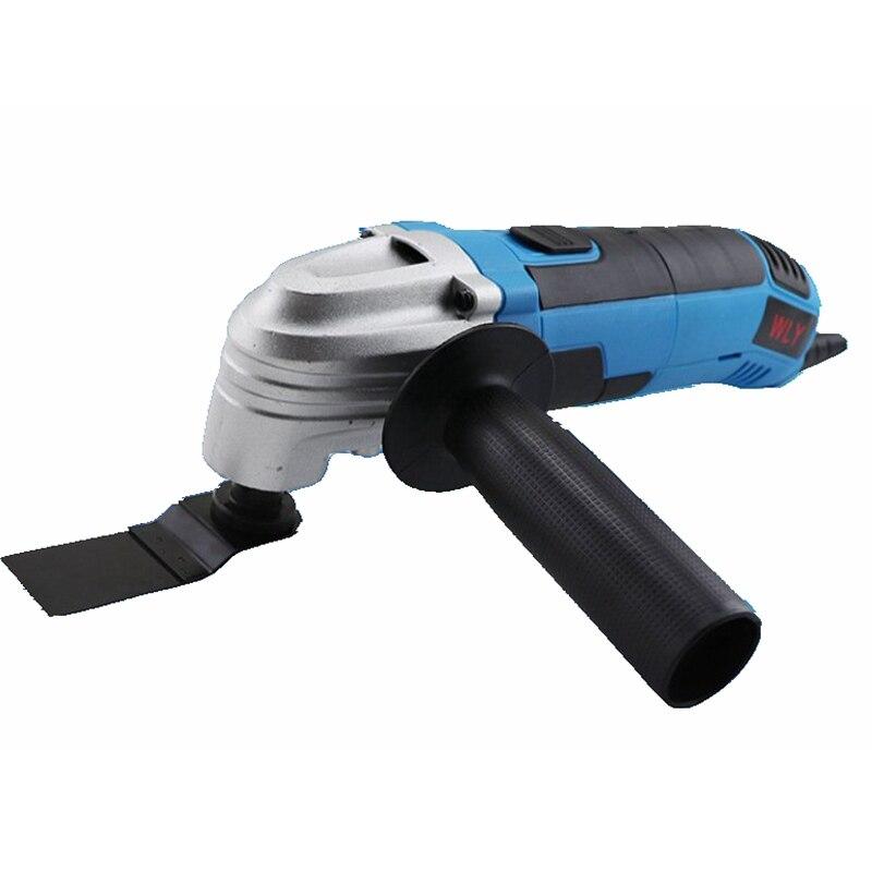 Outils électriques pour le travail du bois multifonctionnel ménage AC bricolage coupe 220V Interface polyvalente outils de découpe de poinçonnage en métal