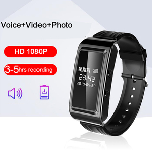 HD 1080P 3-5 часов, длительное время записи, цифровой диктофон, ручка, Видео, Фото, аудио, камера, Смарт-часы, браслет