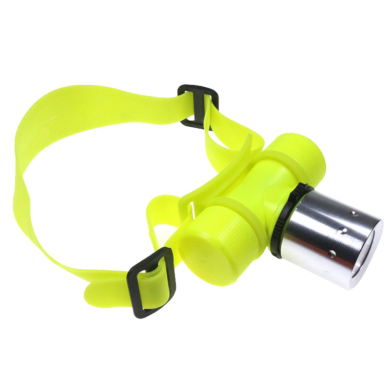 Diving Flashlight Headlamp Underwater T6 LED Waterproof Lamp For Camping Hiking Fishing BJStore