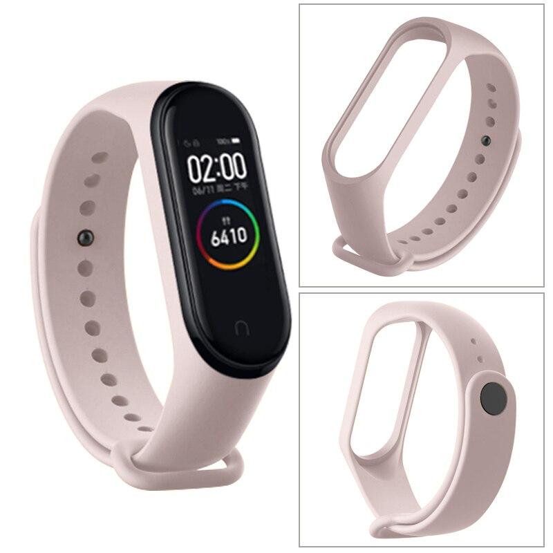 Сменный силиконовый ремешок для смарт-часов Xiaomi Mi Band 5, защитная пленка для смарт-часов MiBand 5, носимые аксессуары для смарт-часов