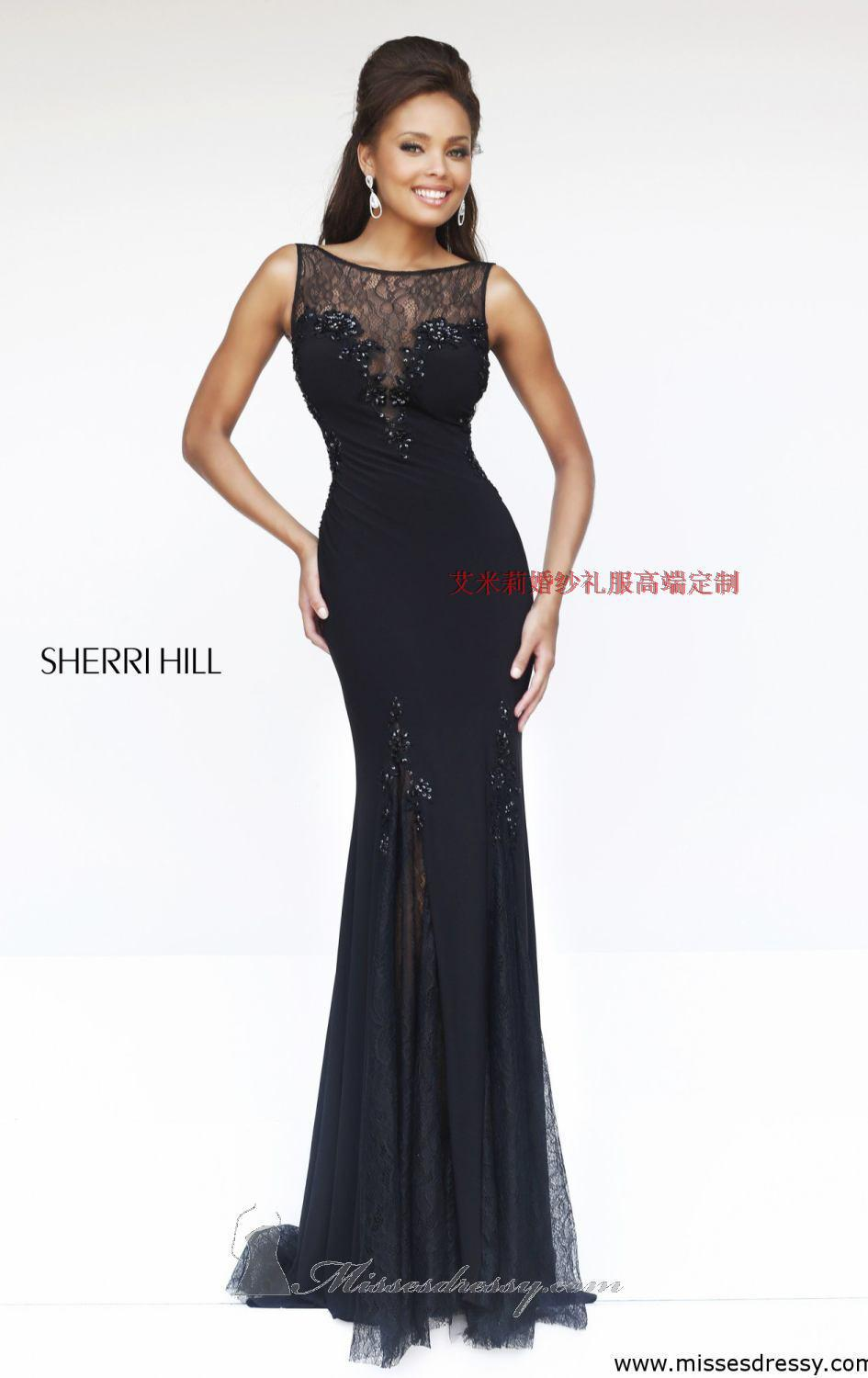 Free Shipping Robe De Soiree Cheap New Fashion Backless Vestido De Festa Black Long Lace Party Gown Mother Of The Bride Dresses
