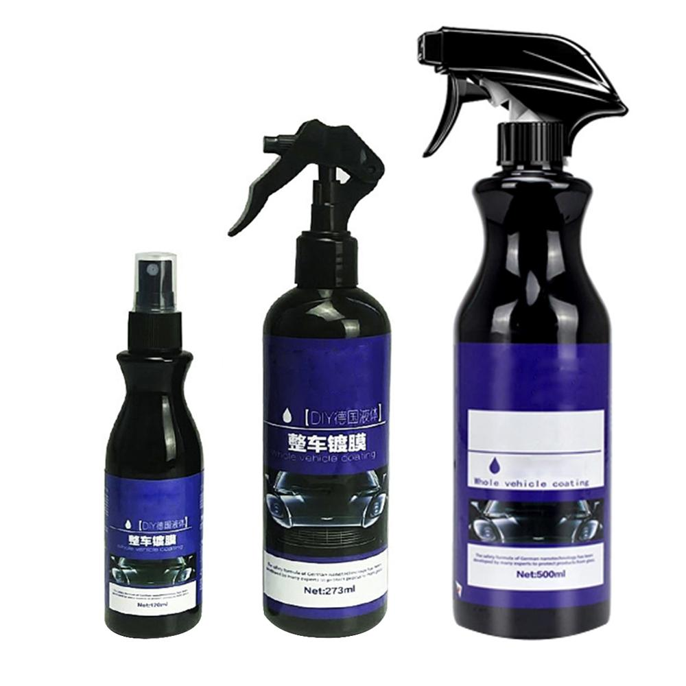 Car Nano Ceramic Coating Polishing Spraying Wax Painted Car Care Nano Hydrophobic Coating Ceramic 120/273/500ML
