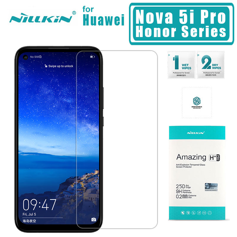 <font><b>Nillkin</b></font> for Huawei Nova 5i Pro 5 Pro 4 Tempered Glass H+PRO 2.5D Screen Protector for Huawei <font><b>Honor</b></font> 20 20 Pro 10 <font><b>Lite</b></font> <font><b>9</b></font> 8 Glass image