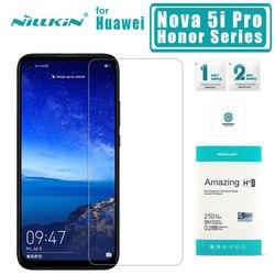 Nillkin dla Huawei Nova 5i Pro 5 Pro 4 szkło hartowane H + PRO 2 5d ochraniacz ekranu dla Huawei Honor 20 20 Pro 10 Lite 9 8 szkło