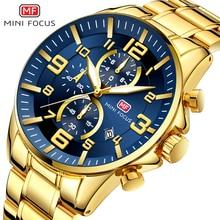 Часы наручные мужские кварцевые с хронографом, модные брендовые Роскошные водонепроницаемые спортивные деловые