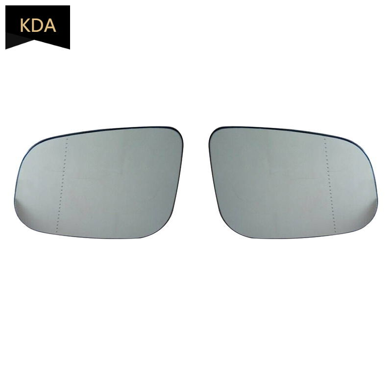 Left side for Smart Fortwo 2007-2012 Wide Angle heated wing door mirror glass