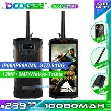 DOOGEE-teléfono inteligente S80 resistente al agua IP68, a prueba de golpes, 10080mAh, ''5,99, 6GB RAM, 64GB rom, cámara de 16MP, FHD +, MT6763T, envío rápido