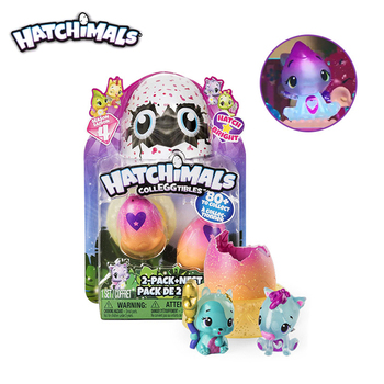 Genuine S4 Hatchimals Hatch Bright 2Pcs Blind Box Mini Pet Hatching Eggs Intention Toys Spin Master Toy Boys And Girls Gifts