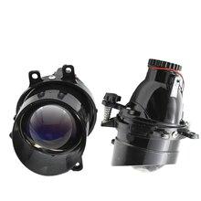 2 pçs luzes de nevoeiro lente bixenon para t oyota corolla/yaris/avensis/camry/rav 4/avalon/cruzador urbano/venza h11 hid lentes do projetor