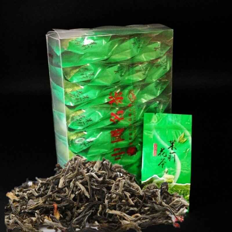 Organic Jasmine Flower Tea Products 2020 New Jasmine Green Tea 32bags Chinese Jasmine The Health Care Green Food Slim Down Tea