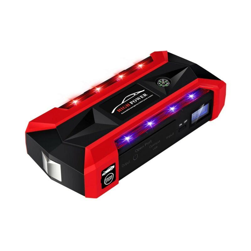 89800mAh Auto Salto di Avviamento Pacchetto LCD Booster 4 Caricatore USB Batteria Accumulatori e caricabatterie di riserva 12V con SOS di Illuminazione di Illuminazione - 6