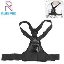Dây Đai Đeo Ngực Dây Cho Gopro Hero 9 8 7 6 5Xiaomi Yi 4K Camera Hành Động Ngực Núi dây Nịt Cho GoPro SJCAM Sport Cam Cố Định