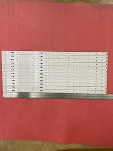Image 2 - Tira de LED para iluminación trasera para LSC550HN01 K01 MX4245147501359 JVC LT55A73 LED55D8 ZC14 05(A) B 553, 8LED, 30355008207mm, 12 Uds.