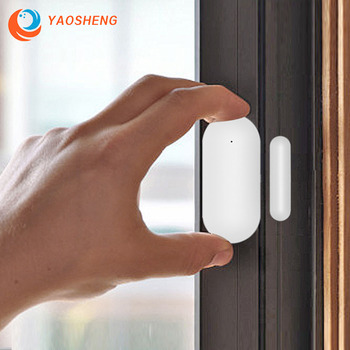 YAOSHENG PB68 Magnetic Sensors Wireless Door Detector Window Sensor WiFi App for 433MHz Home Security Detector Alarm System Kits wireless door window sensor detector magnetic switch normally closed for our home security alarm system
