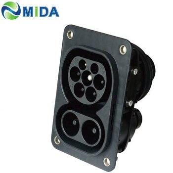 3200v Duosida Ccs Combo2 EV Connector Iec62196-3 150a Charging Plug Socket European Type 2