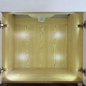 Image 3 - Lampe led pour placard, éclairage dintérieur, allumage automatique, charnières, idéal pour une armoire, une cuisine ou un placard, DC 12V, 4 pièces/lot